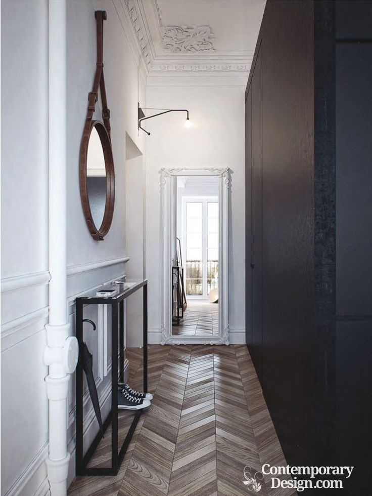 De 93 b sta decoration ideas bilderna p pinterest cool ideas dekorationsid er och bra id er - Mirror opposite front door ...