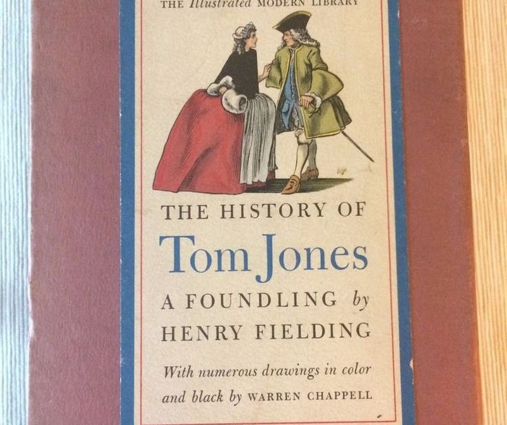 The History of Tom Jones A Foundling by Henry Fielding illustrated 1943