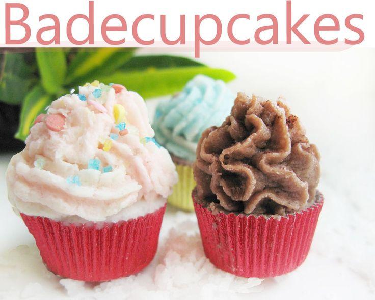 Bade-Cupcakes selber machen