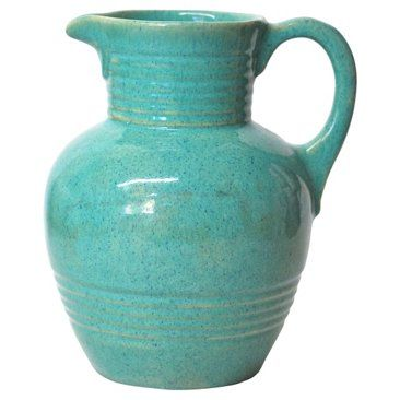 Check out this item at One Kings Lane! Blue Midcentury Pitcher