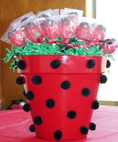 Polka Dot Birthday Supplies, Decor, Clothing: The Ultimate Polka Dot Ladybug Party by Hissyfits Photography