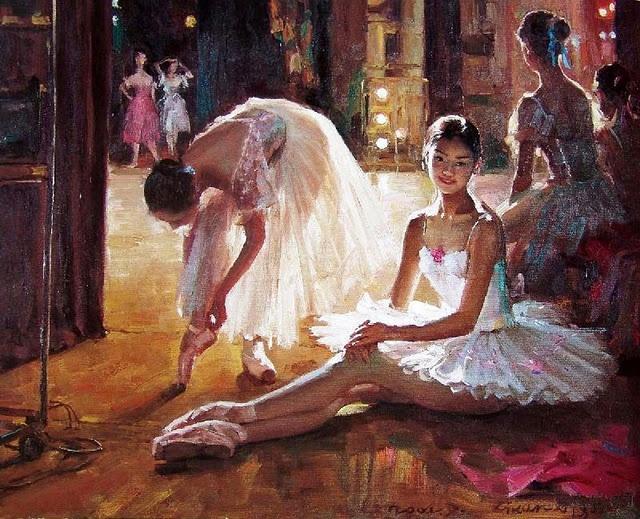 asian oily dance