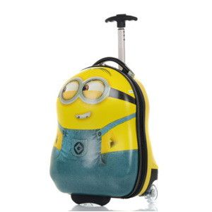 """16"""" Travel 3D stereo Tourism Pull rod box boy girl Children Luggage Suitcase School Bag On Wheels Travel Suitcase children gift"""