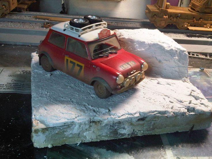 1/24 scale Mini Copper - Monte Carlo Rally ] ademodelart
