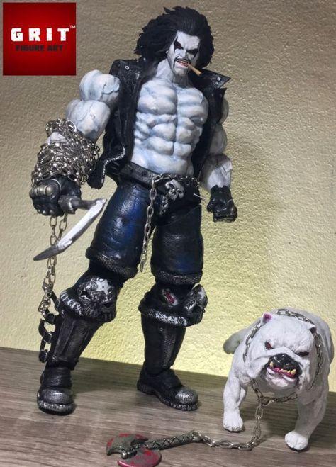 LOBO and Dawg (DC Universe) Custom Action Figure