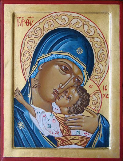 Vierge de tendresse - Oumilenie