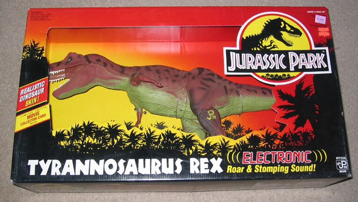 Jurassic Park Toys : The best t rex toy ever made by kenner from