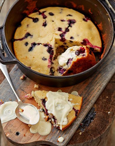 This blueberry muffin potjie recipe is just one of the exotic new braai recipes in Jan Braai's latest recipe book, The Democratic Republic of Braai.