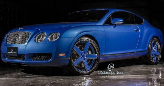 Ultimate Auto Bentley Continental GT Azure Blue