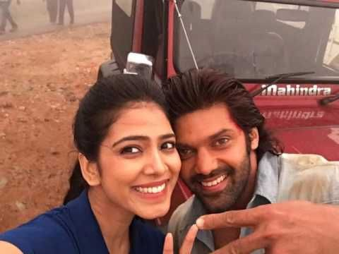 Tamil Actor Arya Malavika Latest Selfie