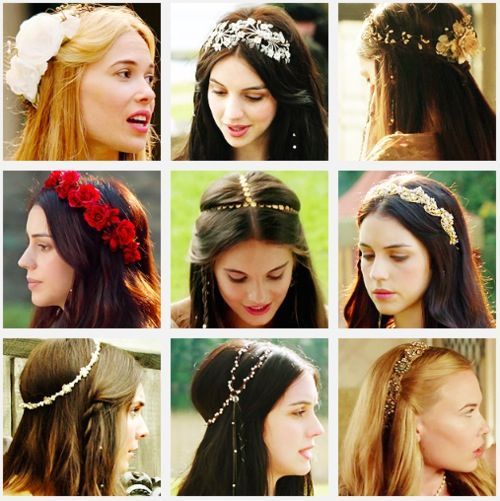 Reign hairstyles                                                                                                                                                      More