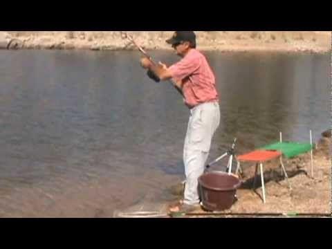 Pesca a la Inglesa con Masilla - YouTube