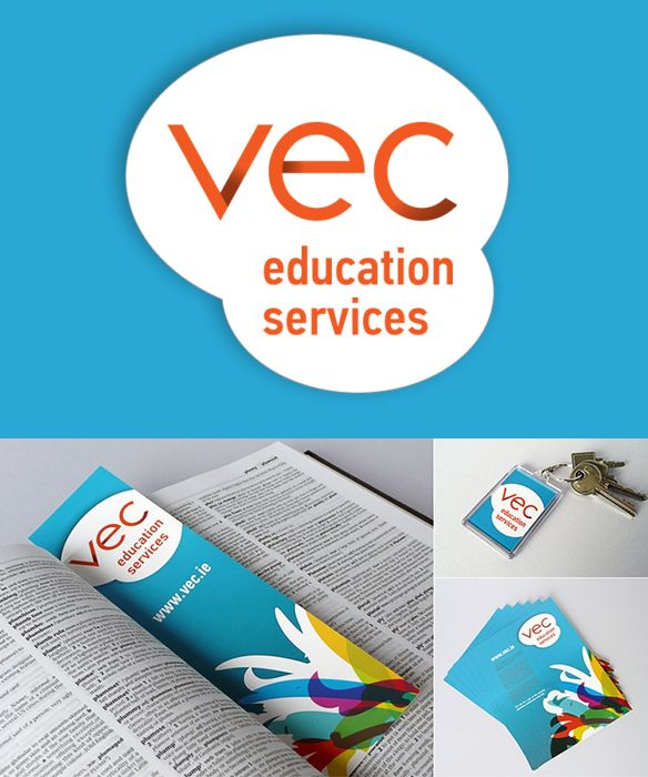 VEC Education Services - Identity and promotional items. www.akgraphics.ie