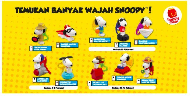 McD, Happy Meal Snoopy McD,