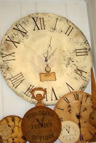 Old clock faces: Vintage Clocks, Crafts Paper, Mache Clocks, Old Clocks, Clock Faces, Paper Mache, Papier Mache, Clocks Collage, Clocks Faces