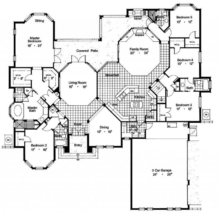 The 25 best house blueprints ideas on pinterest house floor the 25 best house blueprints ideas on pinterest house floor plans house plans and 4 bedroom house plans malvernweather Images