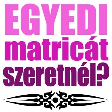 EGYEDI fal matricák - EGYEDI FAL tetoválás matrica - MPA-FAL1400001 - MATRICAplaza webáruház: automatricák, falmatricák, laptop matricák, motor matricák, bringás matricák