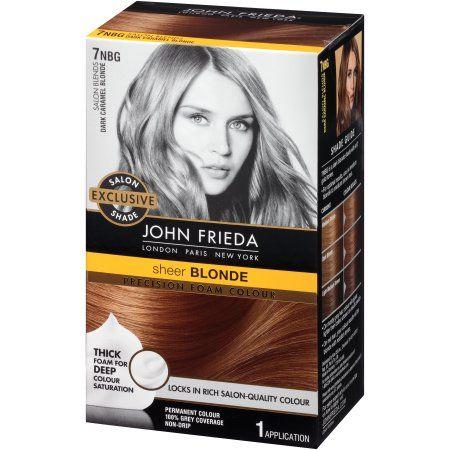 john frieda foam hair color instructions