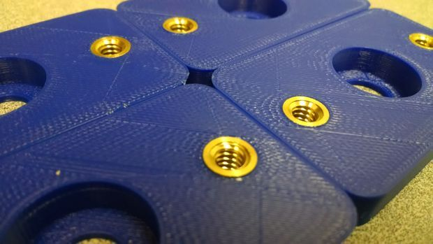 Add metal threads to your 3D prints - make them functional!
