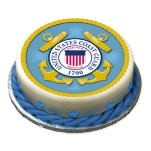 US COAST GUARD Edible Cake Image Party Decor Custom | eBay