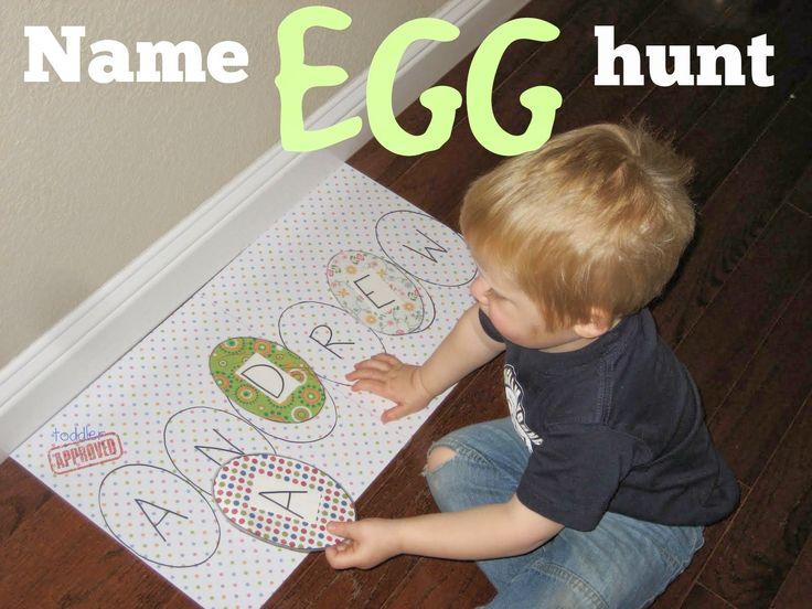 Name Egg hunt