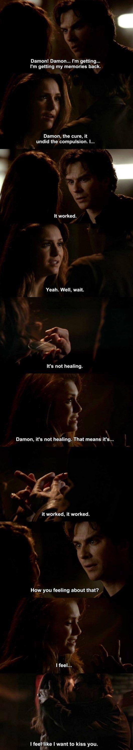 The Vampire Diaries TVD 6X20 - Damon & Elena