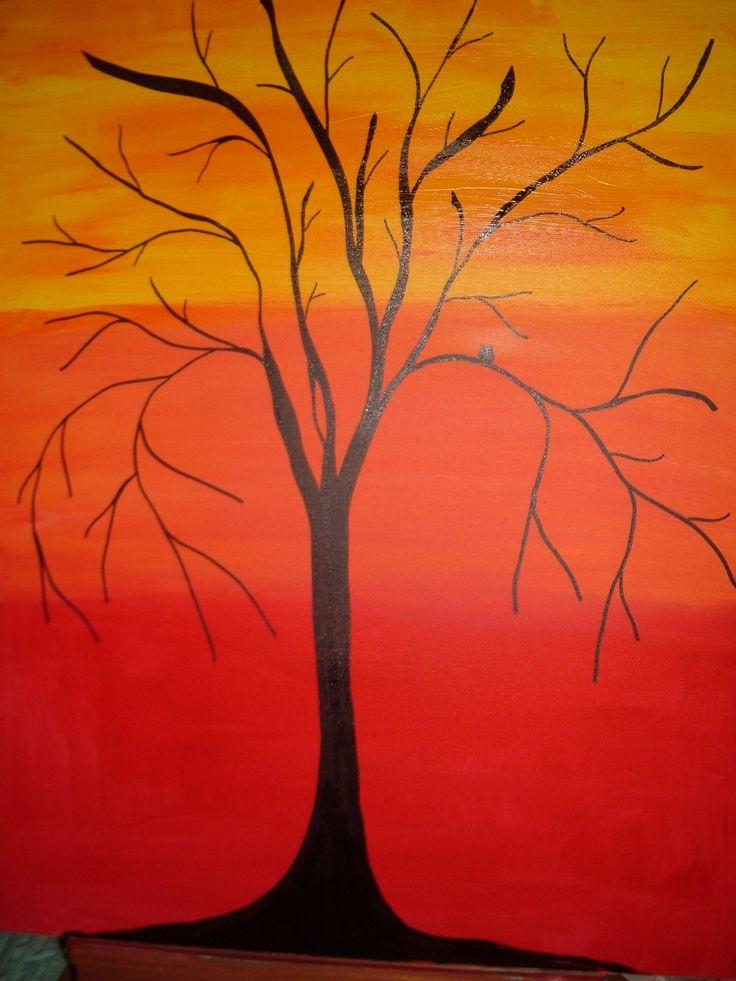 eternal tree - acrylic