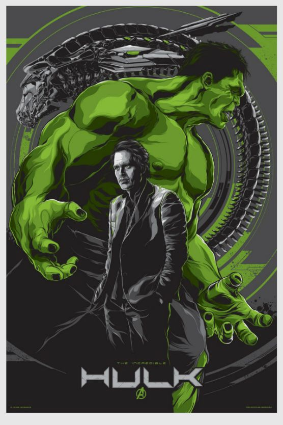 The Avengers: The Incredible Hulk / poster by Ken Taylor