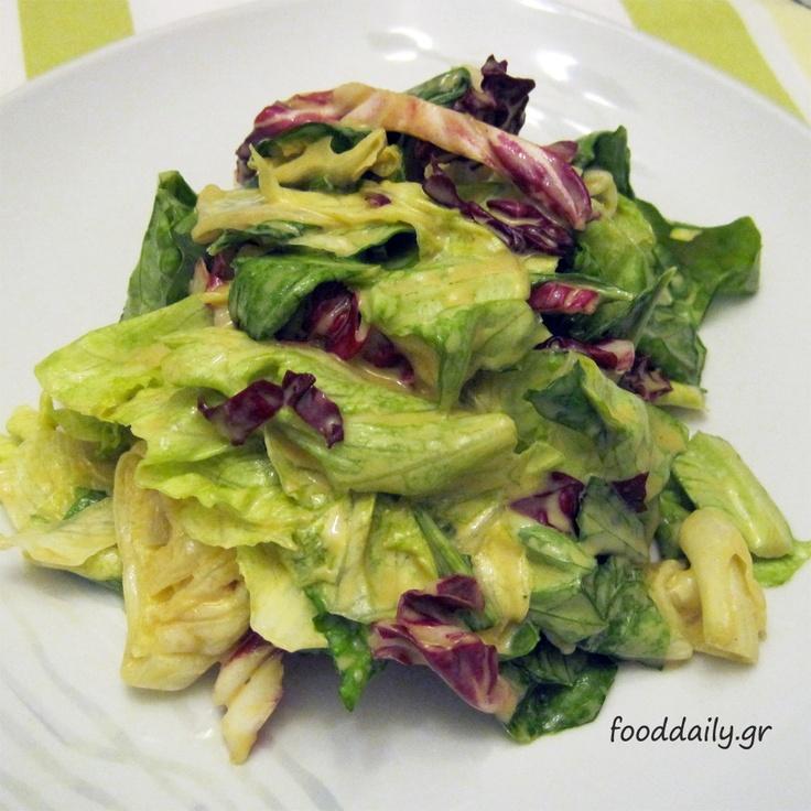 Πράσινη δροσερή σαλάτα
