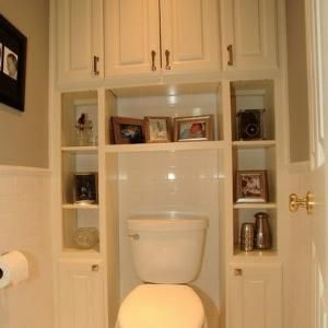 Bathroom Small Space Storage Design, Pictures, Remodel, Decor and Ideas by jeanine.jain