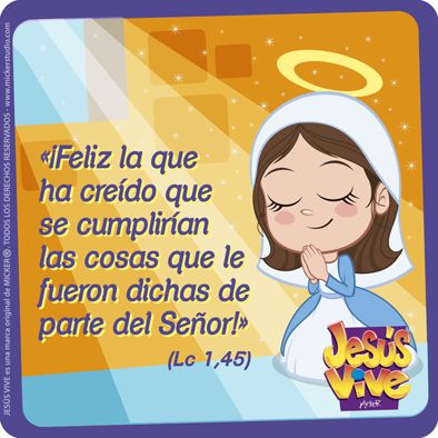 Jesús Vive® – Feliz la que ha creido