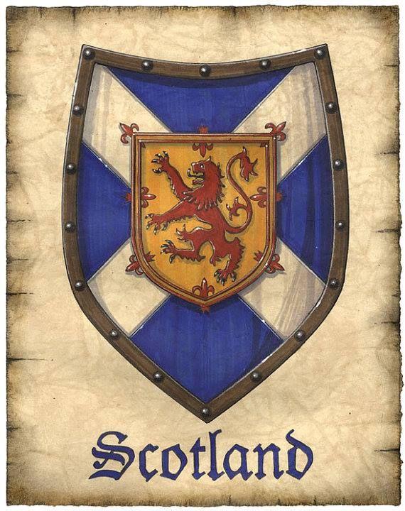 Scotland (scotch-irish to be exact)