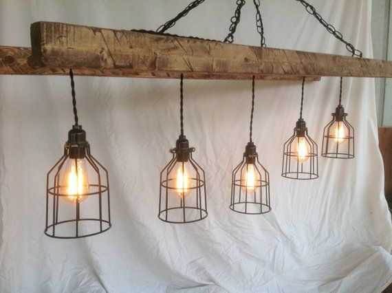 What A Conversation Piece This Light Fixture Will Make Hung Over Your Country Kitche Lighting Fixtures Kitchen Island Mason Jar Lighting Pendant Light Fixtures