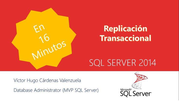 Creación de replicación transaccional, paso a paso, esta se inicia normalmente con una instantánea de los datos y los objetos de la base de datos de publicaciones. En cuanto se obtiene la instantánea inicial, los posteriores cambios de datos y modificaciones del esquema realizados en el publicador habitualmente se entregan en el suscriptor cuando se producen (casi en tiempo real). -SQL Server -.
