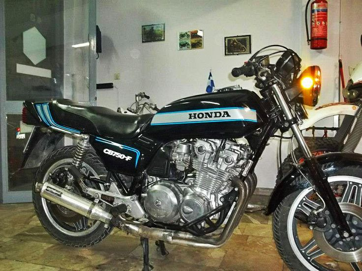 #restored #honda #cb750F #motorcycle https://www.facebook.com/biketherapypatras and http://www.biketherapypatras.gr/