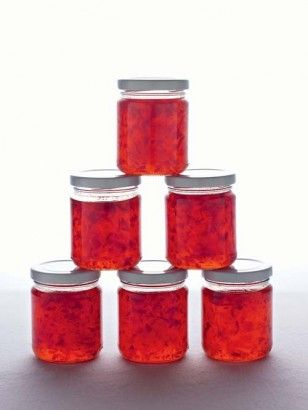 "Nigella's Chilli Jam. From Nigella Lawson. Another Pinner says ""I wonder if this is the secret ingredient in Crispy Chili Jam Chicken at my favorite Thai place?""  Hum?? Try"