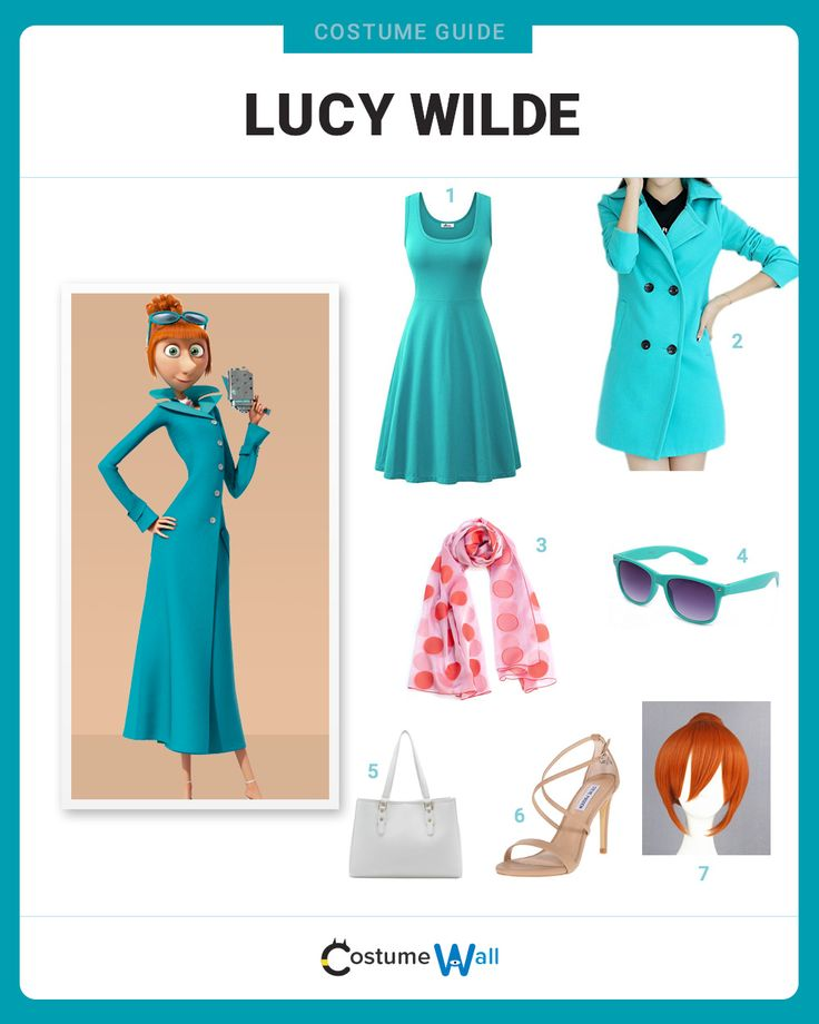 The best cosplay guide for dressing up like Lucy Wilde, the agent from the Anti-Villain League that appears in the Despicable Me series.
