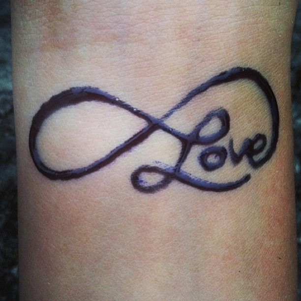 Love, wrist tattoo on TattooChief.com