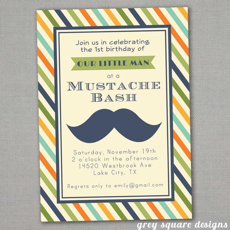 50 best Ideas for Mustache Party images on Pinterest   Mustache ...