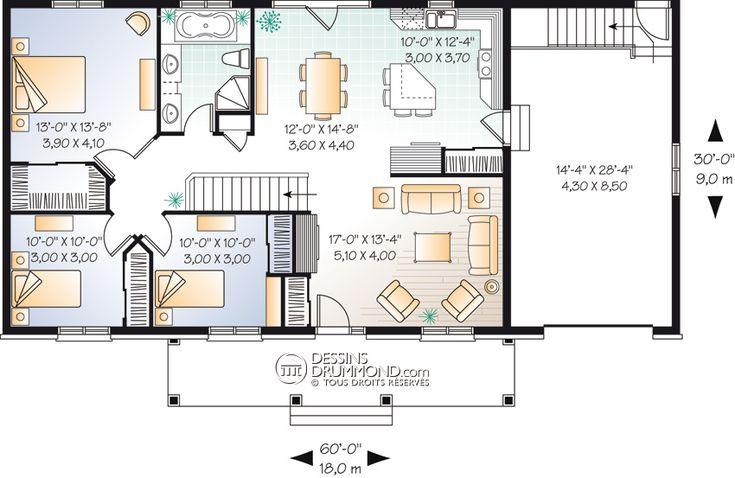 house_plan_maison_plain_pied_Bungalow_RDC_W3229