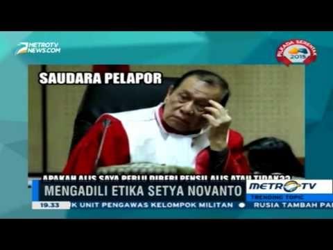 video kocak meme lucu sidang etik Setya Novanto
