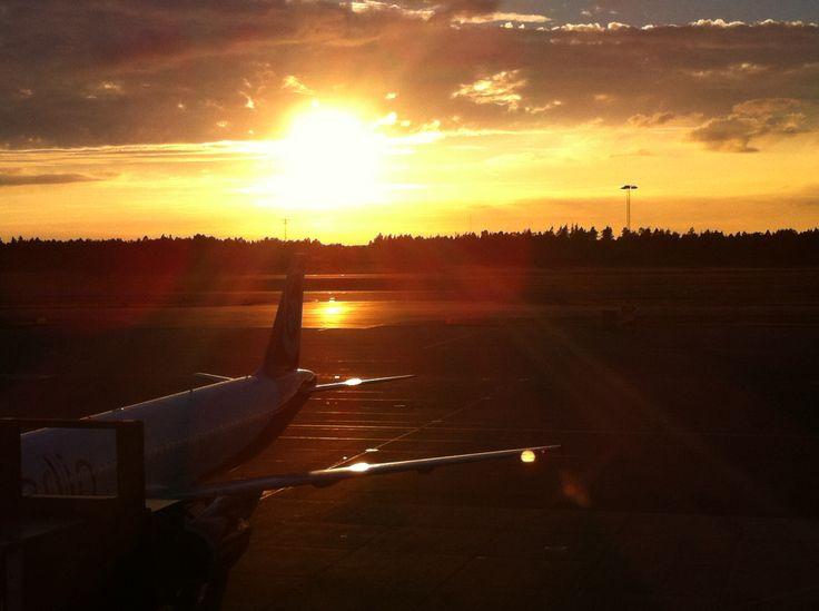 Gothenburg AirPort in Sweden