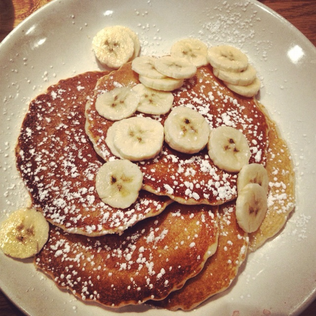 Banana pancakes: what i had for breakfast this morning