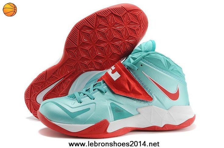 Fast Shipping To Buy Nike Lebron Zoom Soldier VII Mint Green/Red