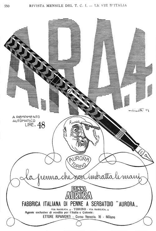 Aurora ARA 4 Ad. c.1925