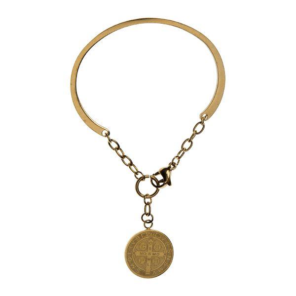 YC Jewels by Yolanthe Cabau - YC Coin bracelet - YCJ8007 - YC Jewels