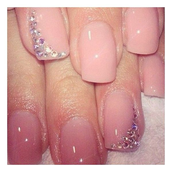 With french nails, not pink...