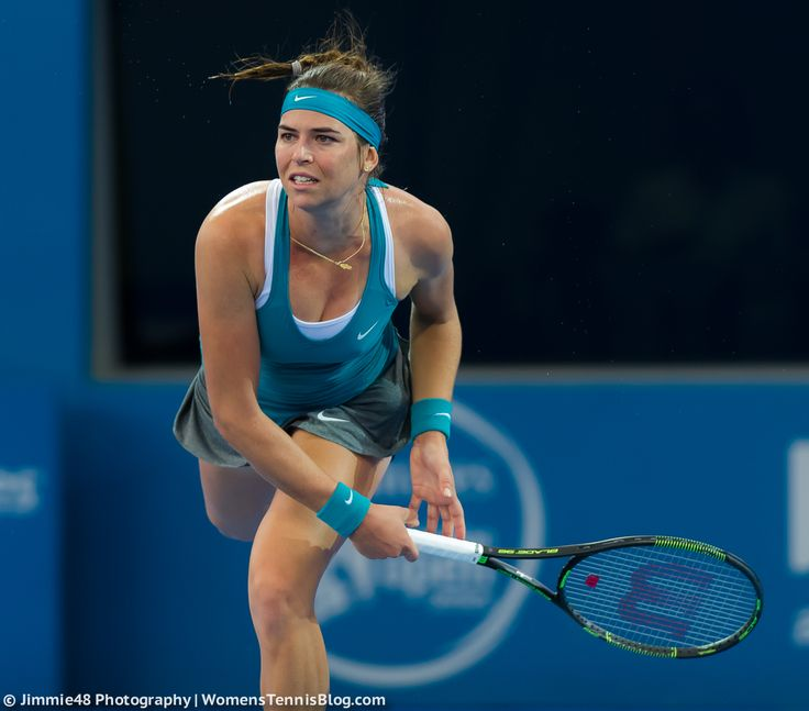 Ajla Tomljanovic started 2015 by upsetting Jelena Jankovic #Brisbane http://www.womenstennisblog.com/2015/01/04/main-draw-play-gets-underway-brisbane-gallery/