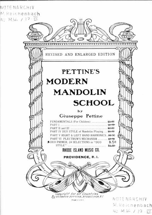 Pettine's Modern Mandolin School