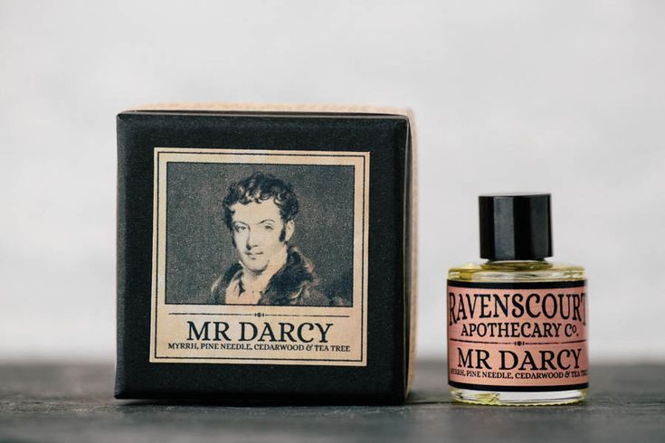 Men's Cologne Mr Darcy  Natural Vegan Scent by RavensCtApothecary, £20.00